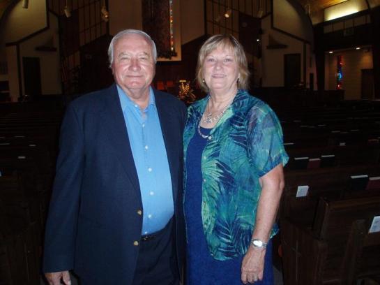 Associate Pastor Willie Rice and wifeWanda