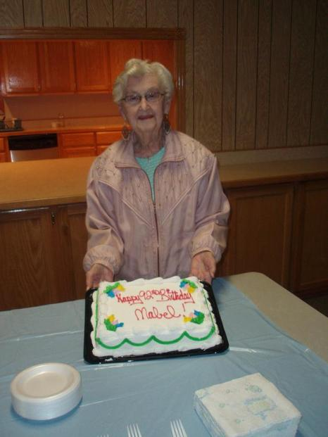 Mabel's 92nd birthdayparty