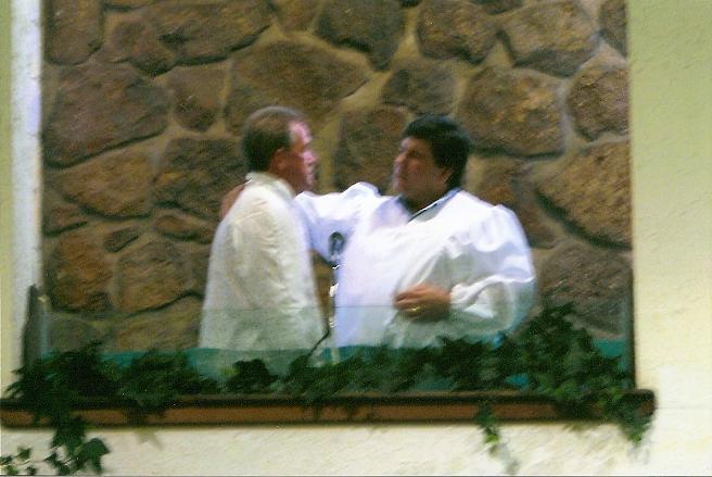 Ken Burgett's Baptism