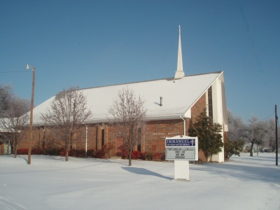 snow-church