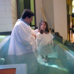Chelsea Brown baptism