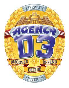 Agency d3 badge